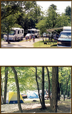 RV Campgrounds & Tent Camping Sites in East Sparta, OH | Bear Creek